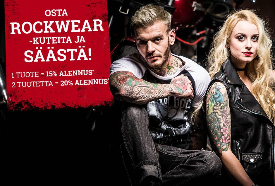 Osta ROCKWEAR-kuteita ja SÄÄSTÄ!