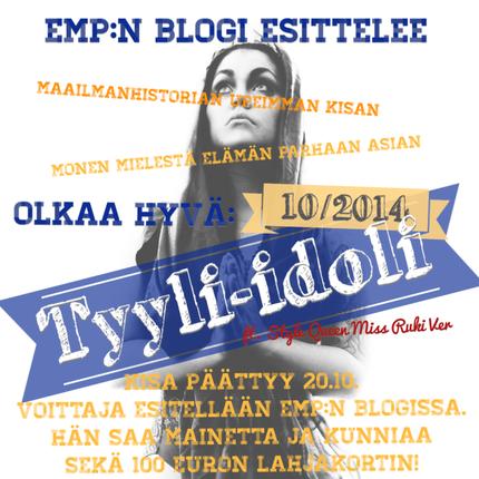 Sinustako tyyli-idoli 10/2014?