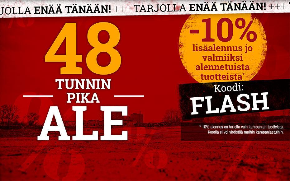 Ylimääräinen 10% alennus ale-tuotteista!