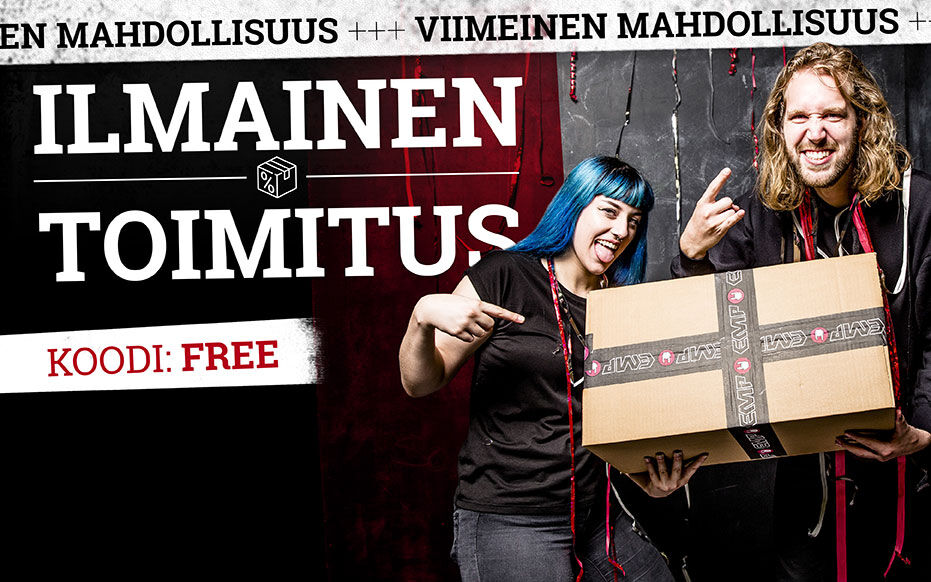 ILMAINEN TOIMITUS!*