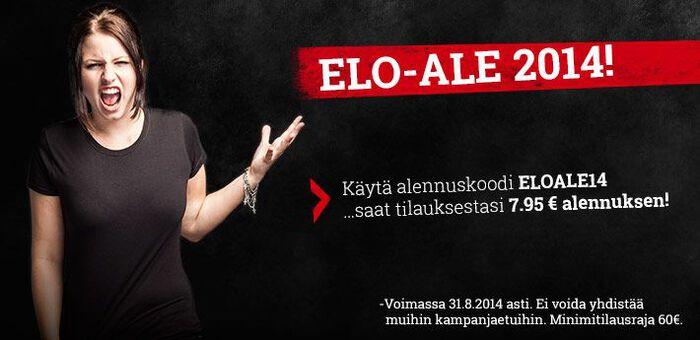 ELO-ALE 2014 -alennuskampanja