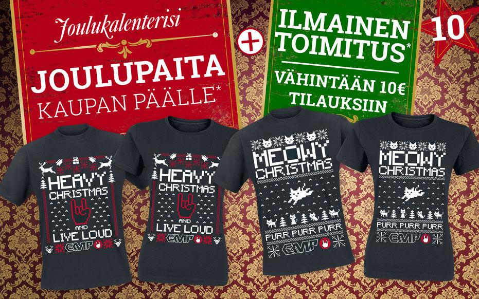 Joulupaita kaupan päälle*