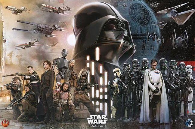 Uskottava Star Wars tarina - Rogue One