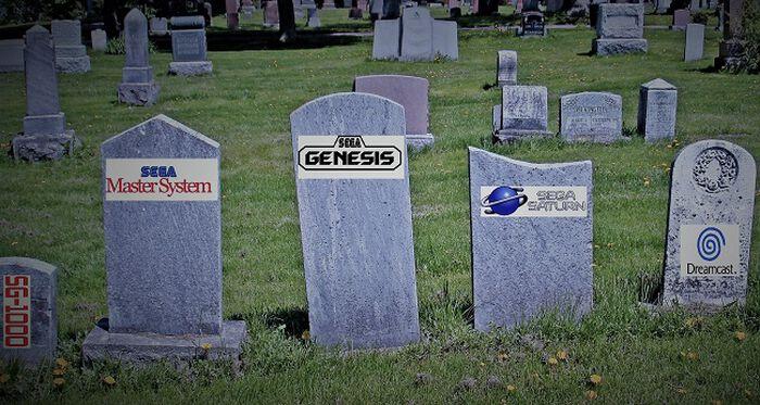 Mutta kuka muistaisi Sega – konsolit?