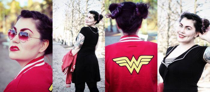Ole oman elämäsi Wonder Woman!
