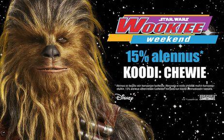 Juhlimme Wookiee Weekendia!