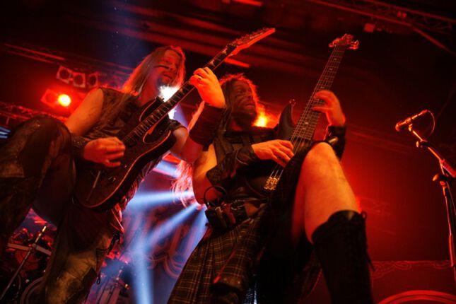 Ensiferum, Insomnium ja Omnium Gatherum - Bremen, Tivoli - 28.3.2015