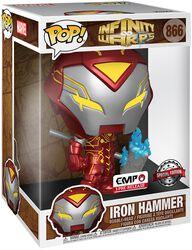 Infinity Warps - Iron Hammer (Pop! Jumbo) Vinyl Figure 866 (figuuri)