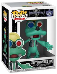 3 Goofy (Monsters Inc.) Vinyl Figure 409 (figuuri)