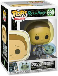 Season 4 - Space Suit Morty With Snake Vinyl Figure 690 (figuuri)