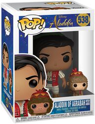 Aladdin of Agrabah with Abu Vinyl Figure 538 (figuuri)