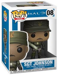 Sgt. Johnson (Cigar) (Chase-mahdollisuus) Vinyl Figure 08 (figuuri)