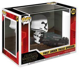 Episode 9 - The Rise of Skywalker - First Order Tread Speeder (Movie Moments) Vinyl Figure 320 (figuuri)