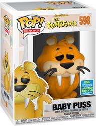 The Flintstones SDCC 2019 - Baby Puss (Funko Shop Europe) Vinyl Figure 598 (figuuri)