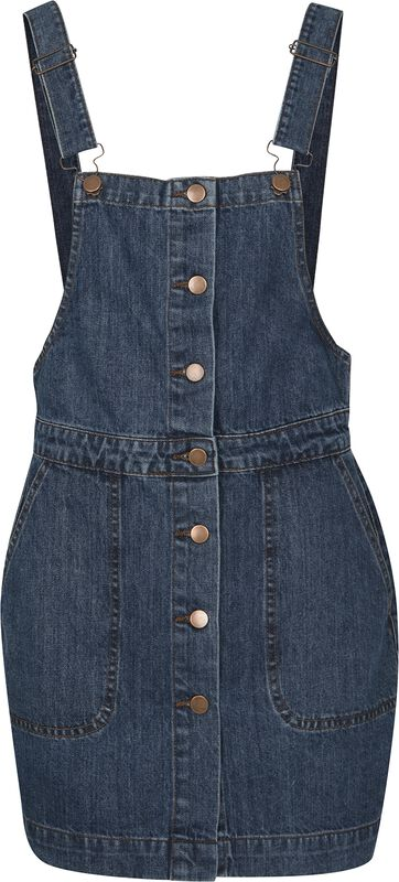 Ladies Denim Dugarees Dress