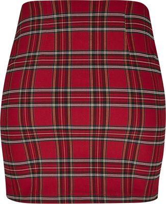 Ladies Short Checker Skirt hame