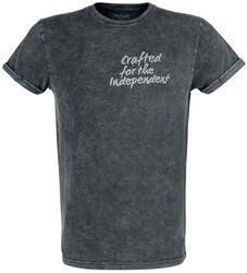 Vintagepesty T-paita 3D-painatuksella