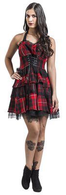 Red Tartan Gothic Dress