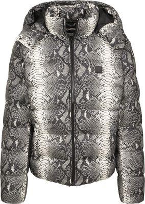 Hooded Snake Puffer Jacket