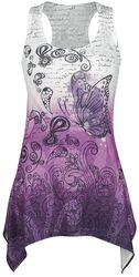 Lace Panel Vest