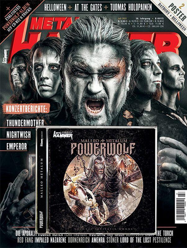 Metal Hammer - Juli 2021 - inkl. CD MALLEO METALUM