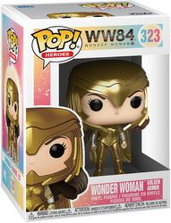 1984 - Wonder Woman Golden Armor Vinyl Figure 323 (figuuri)