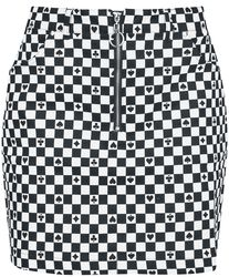 Pokerface Mini Skirt