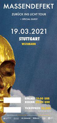 Zurück ins Licht - Stuttgart - 19.03.2021 - Wizemann
