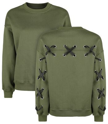 Pullover with Lacing