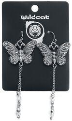 Dangling Butterfly Earrings