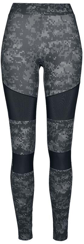 Ladies Digital Camo Tech Mesh Leggings leggingsit