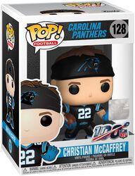 Carolina Panthers - Christian McCaffrey Vinyl Figure 128 (figuuri)