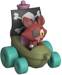 Super Racers  - Foxy the Pirate Vinyl Figure (figuuri)