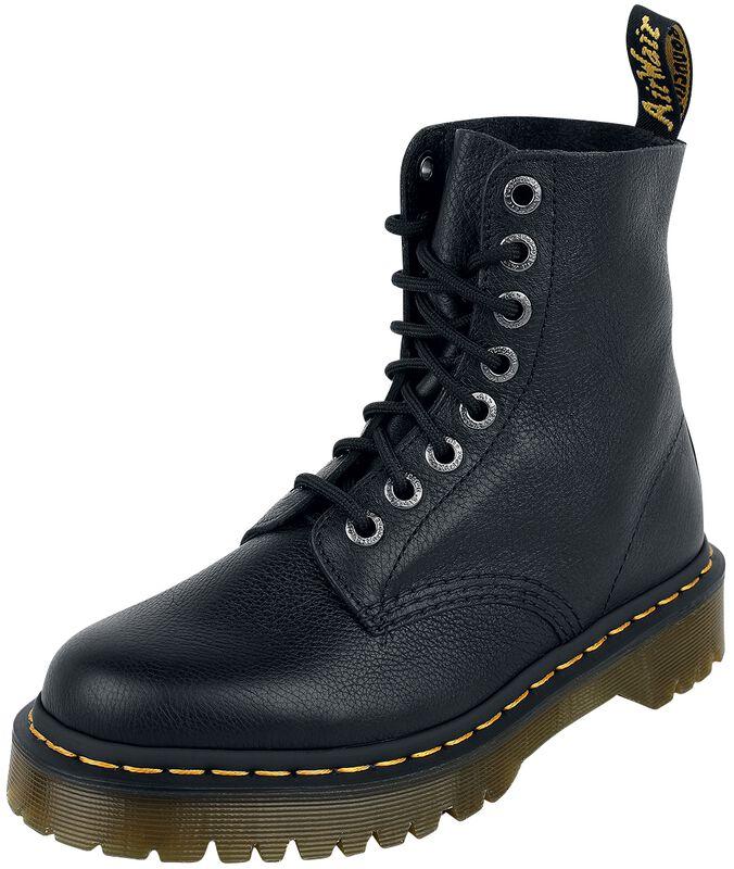 1460 Pascal Bex Black Pisa 8 Eye Boot