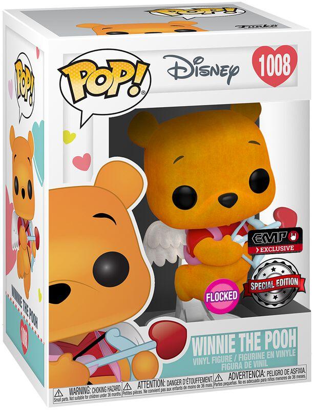 Winnie The Pooh (Valentine) (Flocked) Vinyl Figure 1008 (figuuri)