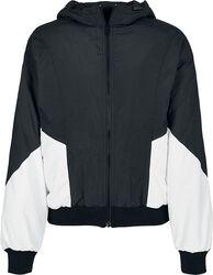 Ladies Padded 2-Tone Batwing Jacket välikausitakki