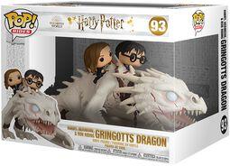 Harry, Hermione & Ron Riding Gringotts Dragon (Pop Rides) Vinyl Figure 93 (figuuri)