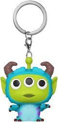 Alien as Sulley - POP! avaimenperä