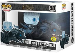 Night King & Icy Viserion POP Rides Vinyl Figure 58 (figuuri)