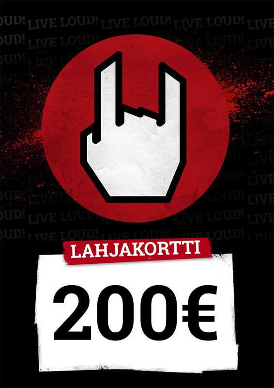 Lahjakortti 200,00 EUR