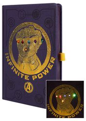 Infinity War - Gauntlet - Notebook with LEDs