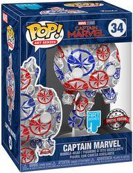 Captain Marvel - (Art Series) Vinyl Figure 34 (figuuri)