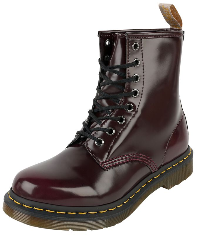 Vegan 1460 Cherry Red Oxford Rub Off 8 Eye Boot maiharit