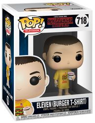 Eleven (Burger-T-Shirt) Vinyl Figure 718