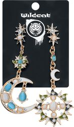 Sun and Moon Earrings