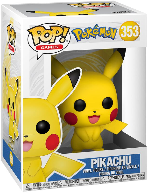 Pikachu Vinyl Figure 353 (figuuri)