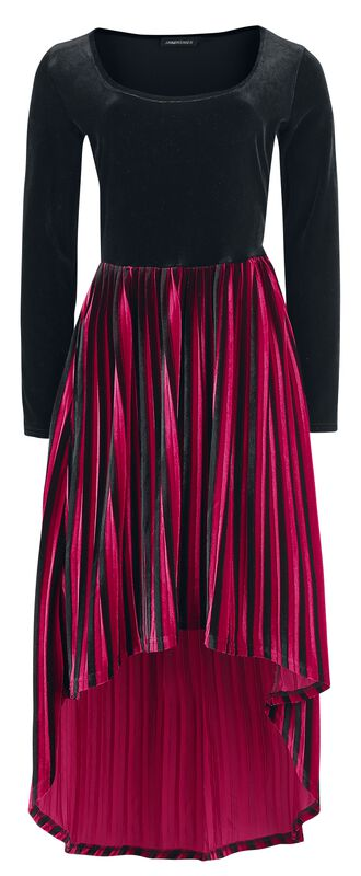 Black Widow Velvet Dress