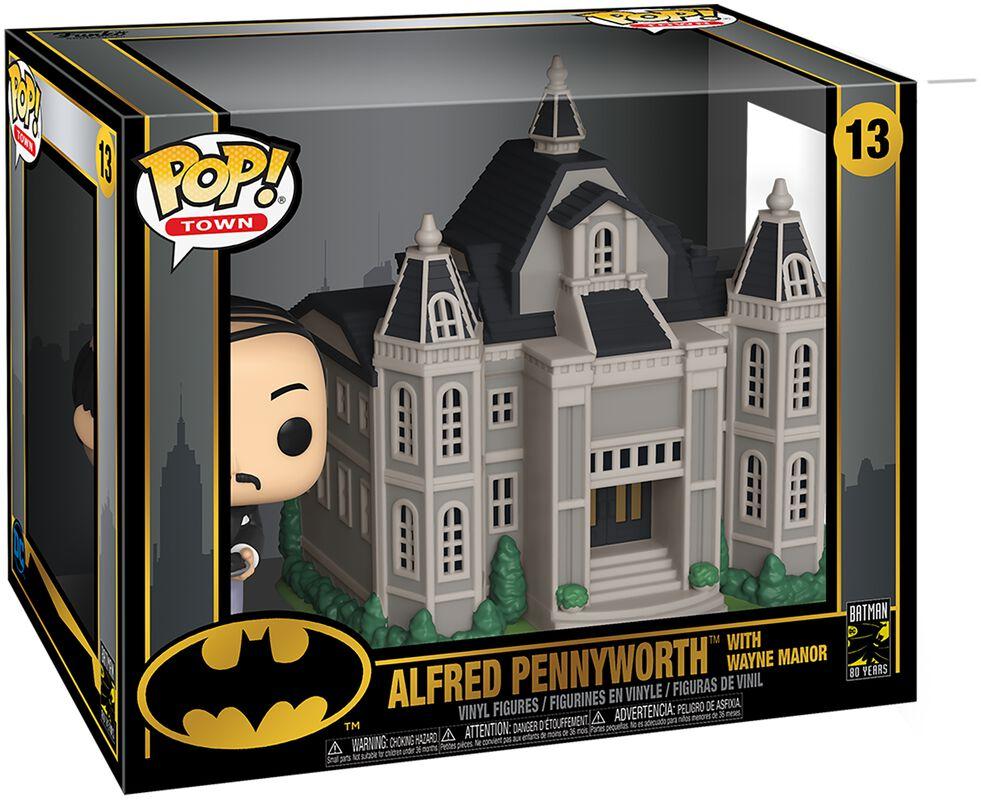 80th - Alfred Pennyworth With Wayne Manor  (Pop! Town) Vinyl Figure 13 (figuuri)