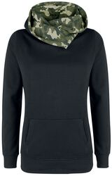 Shawl Collar Military Hoodie