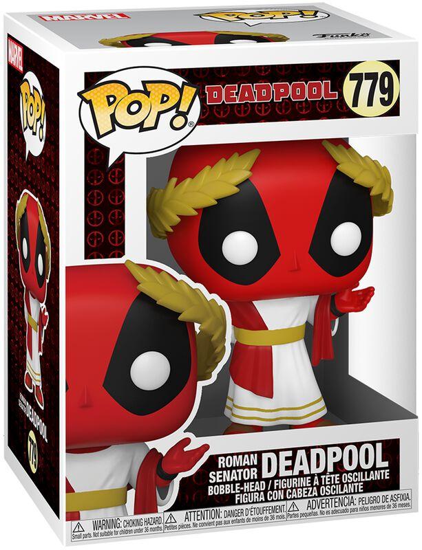 30th Anniversary - Roman Senator Deadpool Vinyl Figure 779 (figuuri)